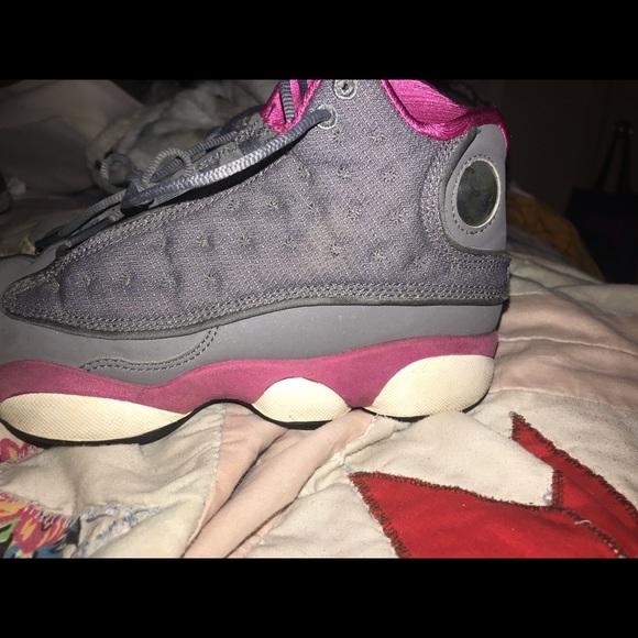Jordan Shoes | Grey And Pink Jordan 3s